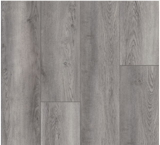"""Armstrong - 9""""x72""""x0.28"""" thick Empower Norden Oak - Harbor Seal Luxury Vinyl Plank"""