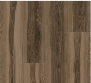 "Armstrong - 9""x72""x0.28"" thick Empower Viking Hickory - Norse Brown Luxury Vinyl Plank"