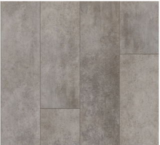"Armstrong - 9""x72""x0.28"" thick Empower Urban Age - Mineral Gray Luxury Vinyl Plank"