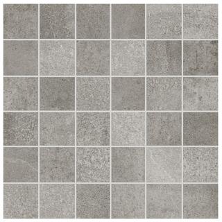 """Anatolia - 2""""x2"""" Industria Chromium Porcelain Mosaic Tile"""