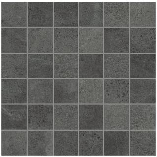 """Anatolia - 2""""x2"""" Industria Graphite Porcelain Mosaic Tile"""