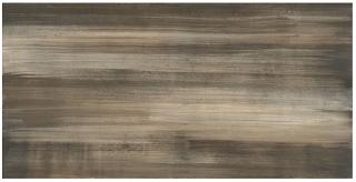 "Milestone - 12""x24"" +One Canvas Moka Polished Porcelain Tile (Rectified Edges)"
