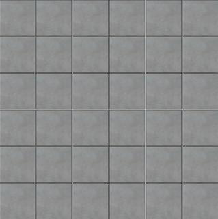 """Happy Floors - 2""""x2"""" Etna Gris Porcelain Mosaic Tile (12""""x12"""" Sheet)"""