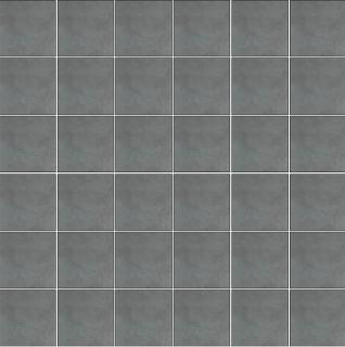 "Happy Floors - 2""x2"" Etna Marengo Porcelain Mosaic Tile (12""x12"" Sheet)"