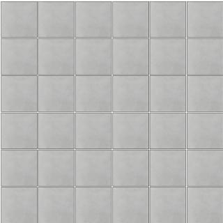 "Happy Floors - 2""x2"" Etna Perla Porcelain Mosaic Tile (12""x12"" Sheet)"