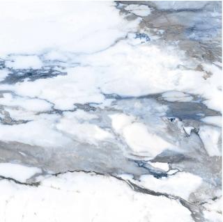 """Happy Floors - 24""""x24"""" Crash Blue Natural Porcelain Tile (Rectified Edges)"""