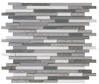 """SoBe Dusks Sticks Mosaic (11.8""""x11.8"""" Sheet)"""