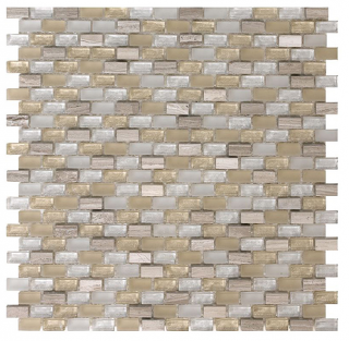 "SoBe Sand Mini-Brick Mosaic (11.3""x11.4"" Sheet)"