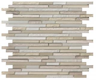 "SoBe Sand Sticks Mosaic (11.8""x11.8"" Sheet)"
