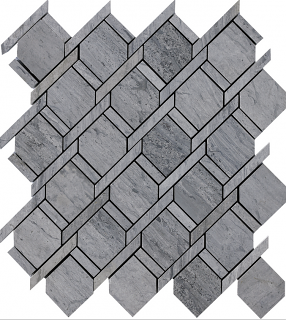 """Wooden Silver Rope Mosaic Tile (12""""x11"""" Sheet)"""