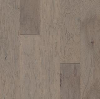 "Hartco - American Scrape 3/8""x5"" Grey Wolf Hickory Engineered Hardwood Flooring w/ Densitek"