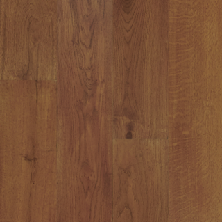 """Hartco - TimberBrushed Gold  1/2"""" thick x 7-1/2"""" wide Harvest Spice White Oak Engineered Hardwood Flooring"""