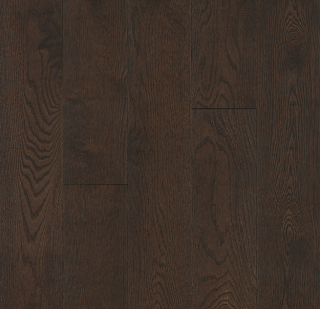"Hartco - Prime Harvest Elite 9/16"" thick x 5"" wide Mocha White Oak Engineered Hardwood Flooring"