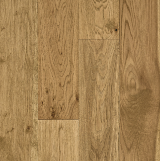 "Hartco - Hydroblok 1/2"" thick x 6-1/2"" wide Serene Taupe White Oak Engineered Waterproof Hardwood Flooring"
