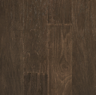 """Hartco - Hydroblok 1/2"""" thick x 6-1/2"""" wide Forager Brown Hickory Engineered Waterproof Hardwood Flooring"""