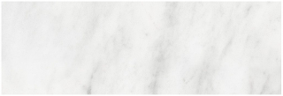 "6""x18"" Bianco Venatino Honed Marble Tile 72-350"