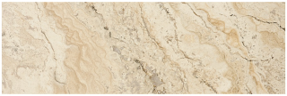 "Anatolia - 6""x18"" Picasso Travertine Filled & Honed Tile 73-350"