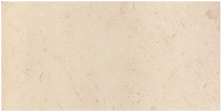 "3""x6"" Berkshire Crema Honed Marble Tile 72-032"