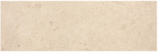 "6""x18"" Berkshire Crema Honed Marble Tile 72-351"