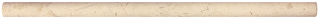 "5/8""x12"" Berkshire Crema Honed Marble Mini Pencil Molding 77-371"