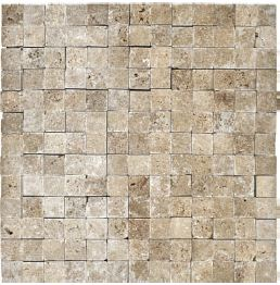 Noce Travertine Split Face Cambria Strip 76-301