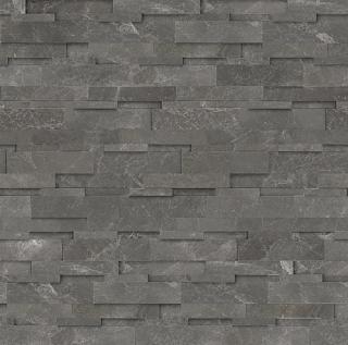 "6""x24"" Carbon Ledger Stone Panel 76-328"