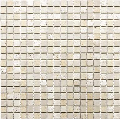 "Anatolia - 5/8""x5/8"" Summerhouse Blend Mosaic Tile (12""x12"" Sheet)"