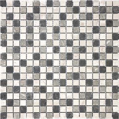 "Anatolia - 5/8""x5/8"" Chai Blend Mosaic Tile (12""x12"" Sheet)"