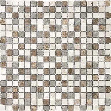 "Anatolia - 5/8""x5/8"" Countryside Blend Mosaic Tile (12""x12"" Sheet)"