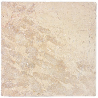 "12""x12"" Berkshire Crema Tumbled Marble Tile 72-100"