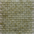 "Crystal Glass Mosaic-5/8""X1""-AD8351 (11.6""x11.6"" sheet)"