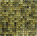 "Crystal Glass Mosaic-5/8""x5/8""-AD8154 (11.6""x11.6"" sheet)"
